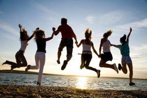 Viajar con amigos a esas partes y vivir una gran experiencia.