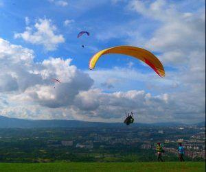 Sitios turísticos en Santander - Paracaidismo