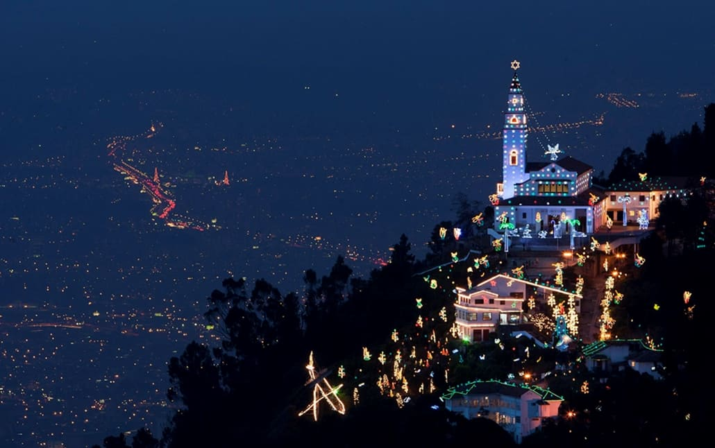 Alumbrado navideño Bogota