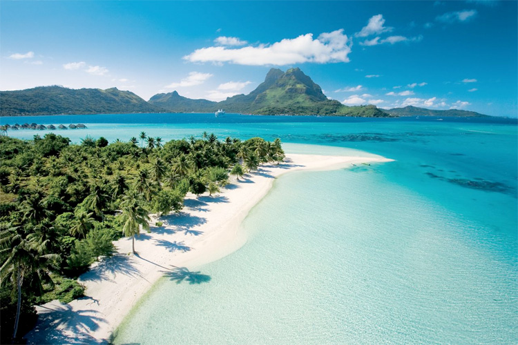 Países que no piden visa a los colombianos Bora Bora