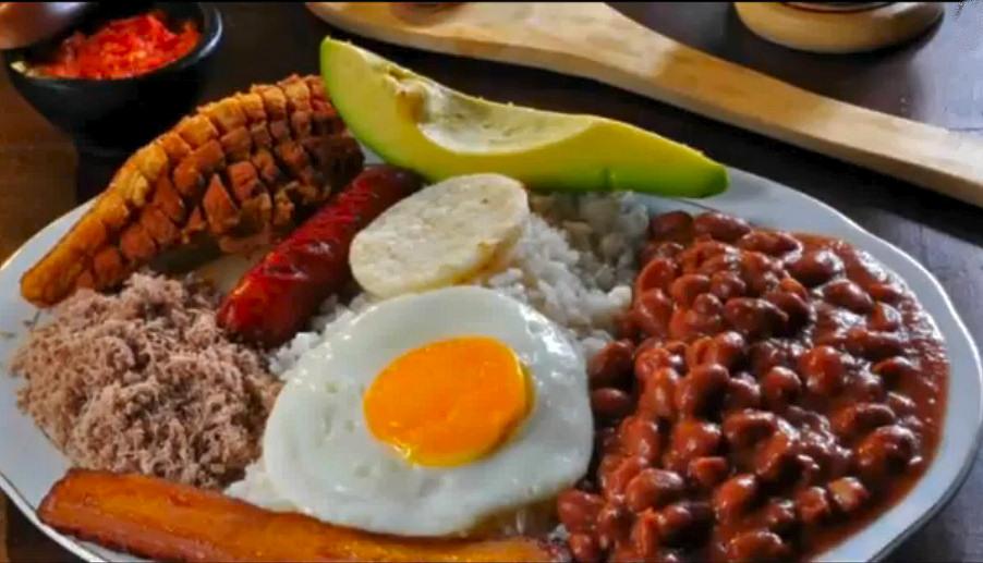 Corredores turísticos de Colombia Comida Paisa