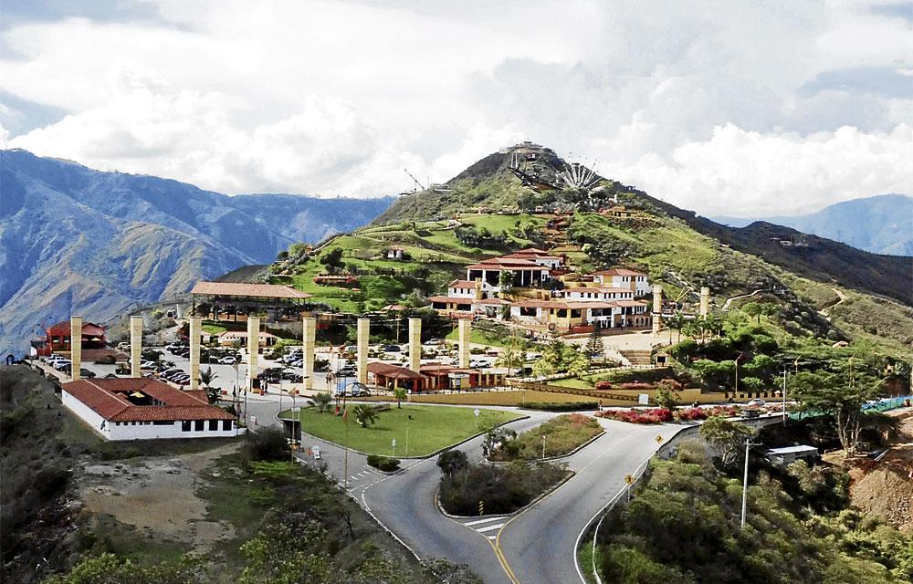 Corredores turísticos de Colombia Santander