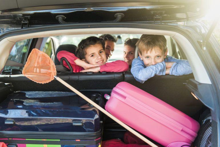 Tips para viajar con niños por carretera