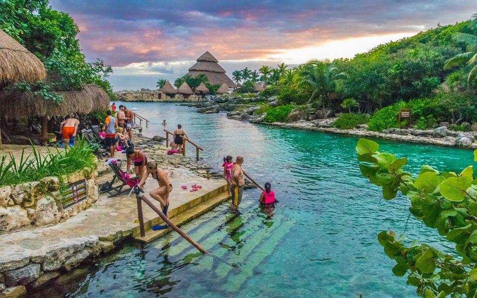 Vacaciones en Cancún - Parque Xcaret