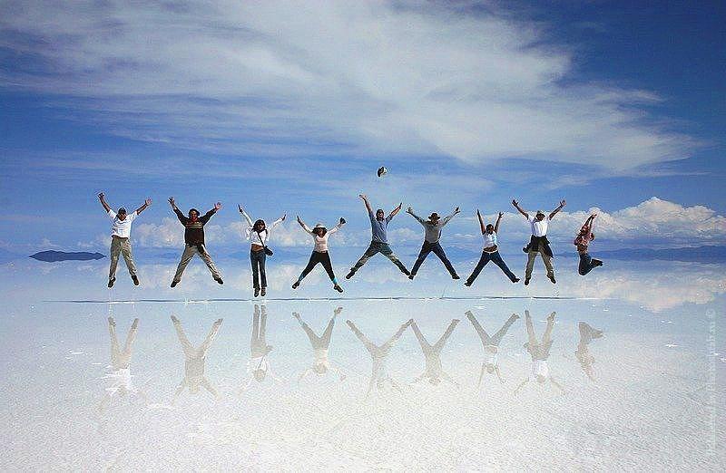 Lugares exóticos del mundo - Salar Uyuni