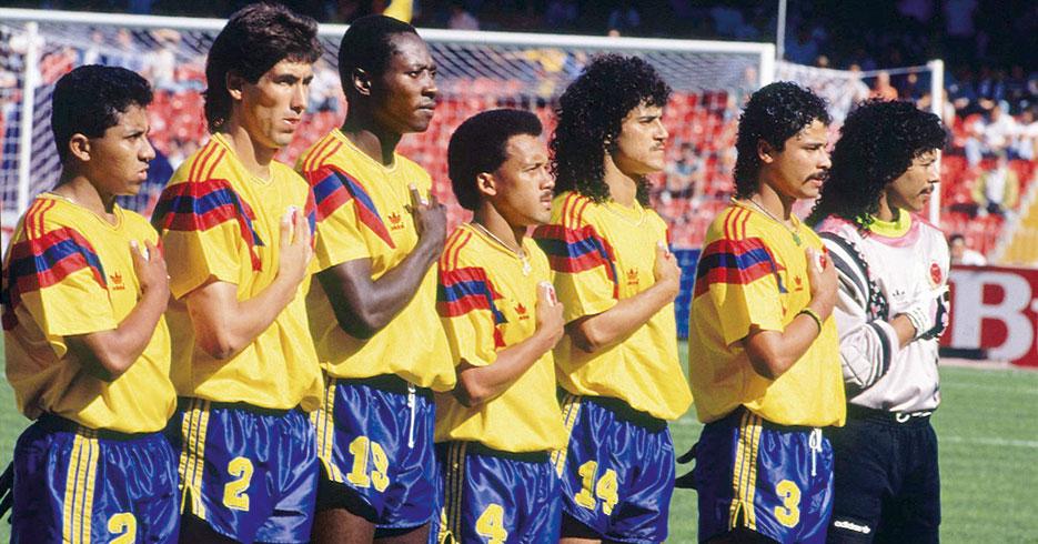 Copa-Mundial-de-Fútbol - Selección Colombia 1990