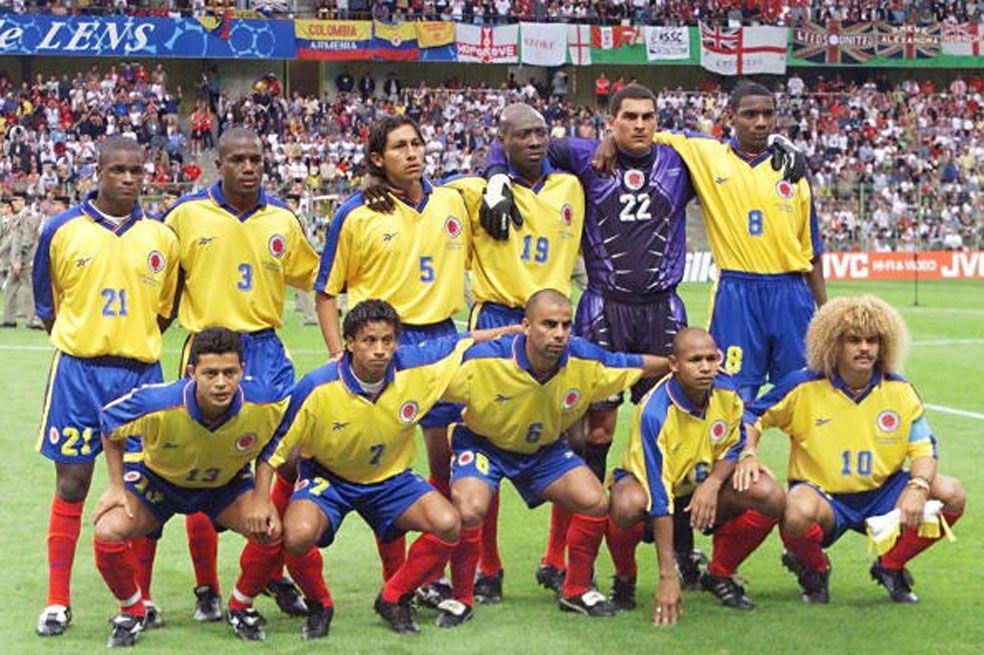 Copa Mundial de Futbol Selección Colombia 1998