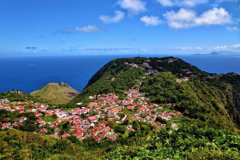 Islas del Caribe - Saba