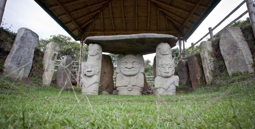 Viajar con adolescentes - Parque Arqueológico San Agustín