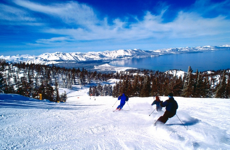 Destinos de Estados Unidos para Esquiar - Lake Tahoe