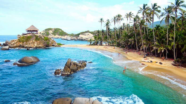 Acampar en Colombia - Tayrona