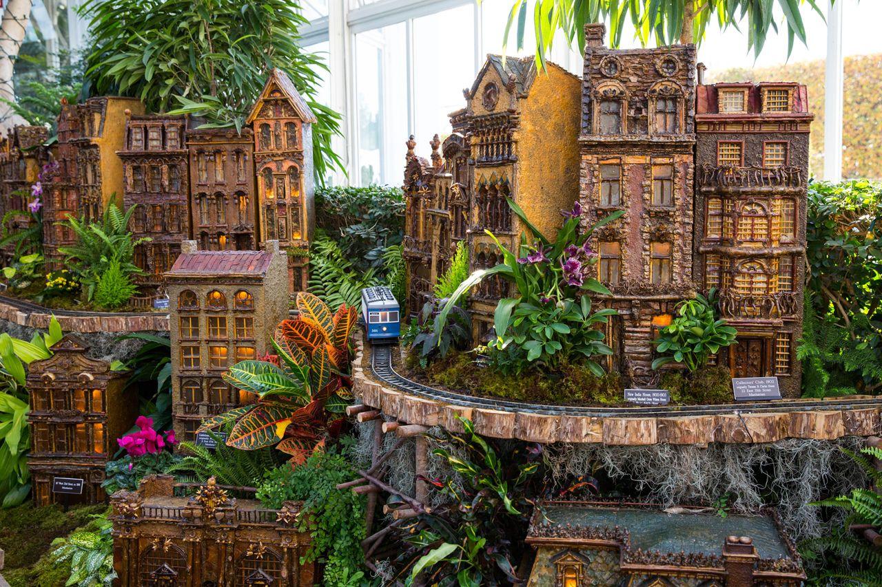 Diciembre en Nueva York - Tren Jardin Botanico
