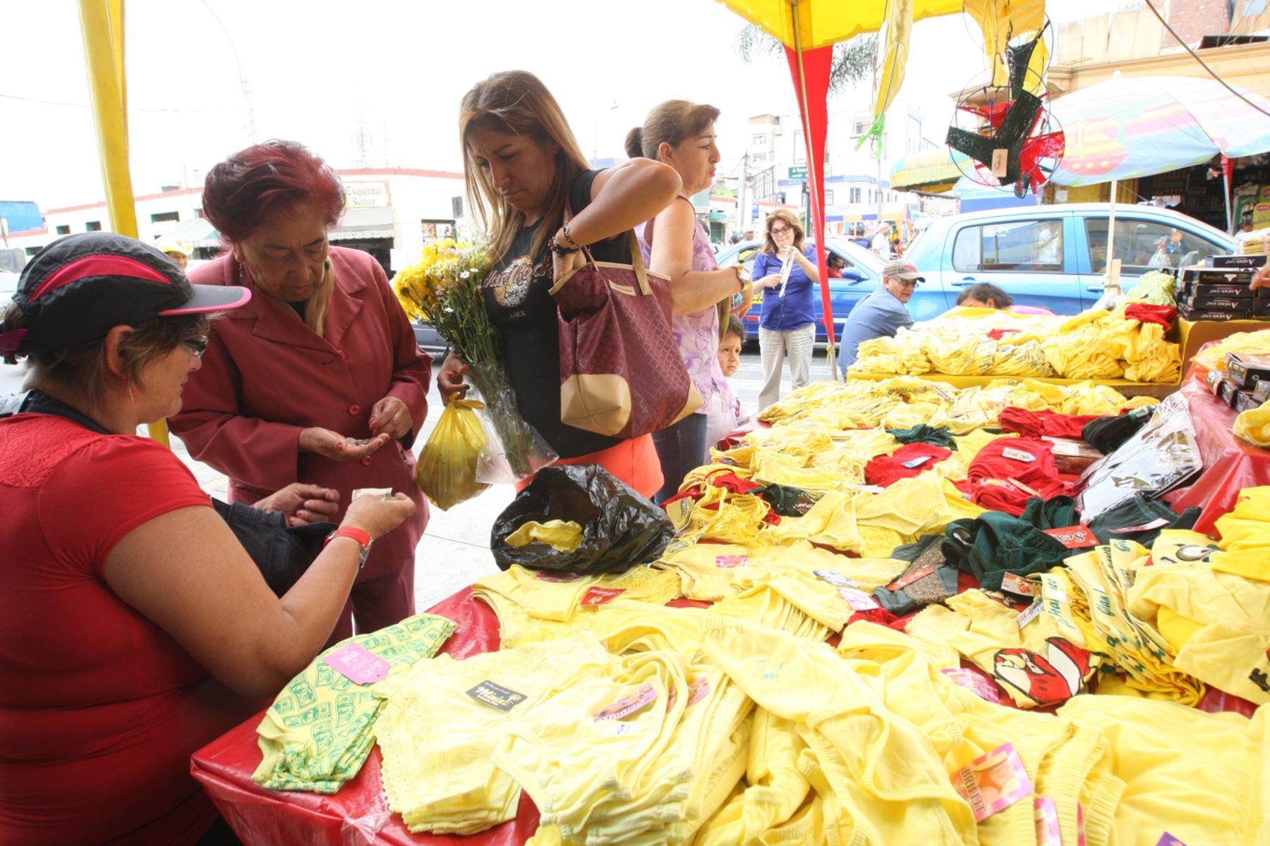Agüeros para fin de año - calzones amarillos