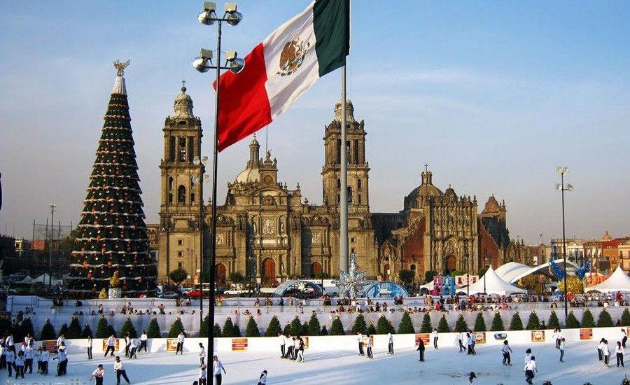 Destinos internacionales preferidos por los colombianos en navidad - Ciudad de Mexico
