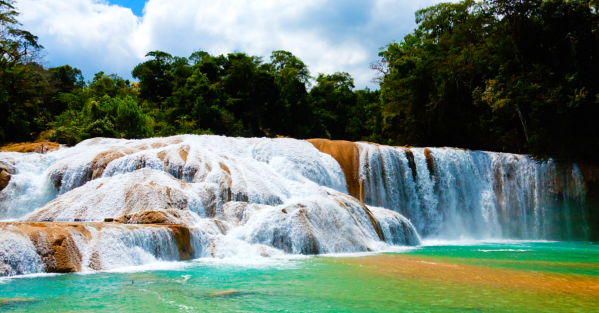 7 días en México - Cascadas de Agua Azul Chiapas