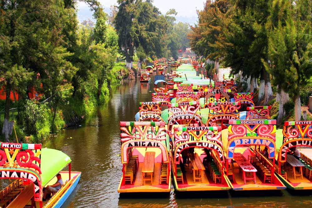 7 días en México - Xochimilco