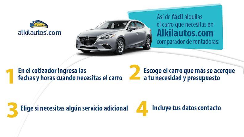 Renta de Carros en Bucaramanga - Pasos
