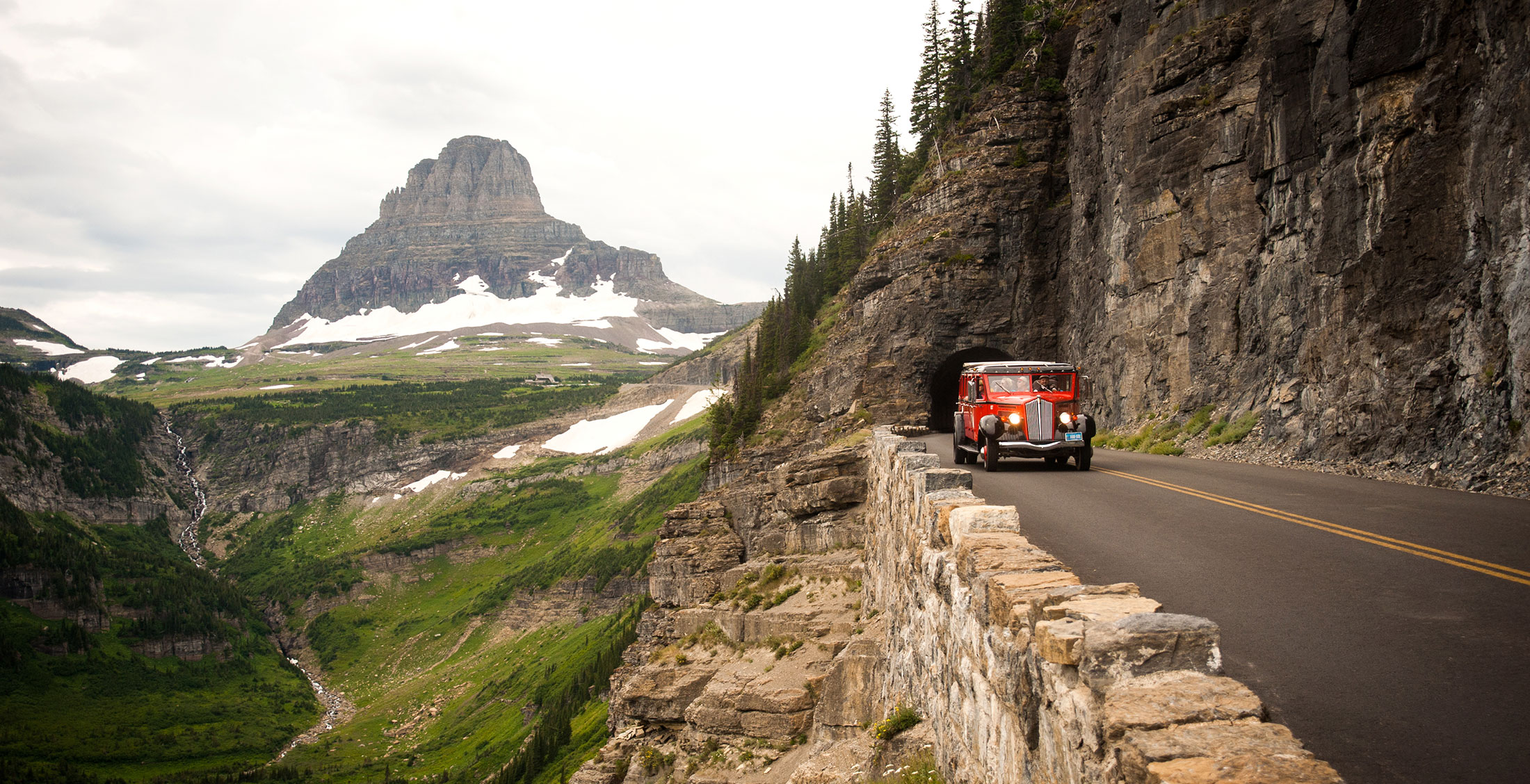 Mejores carreteras de Estados Unidos - Going-to-the-Sun Road