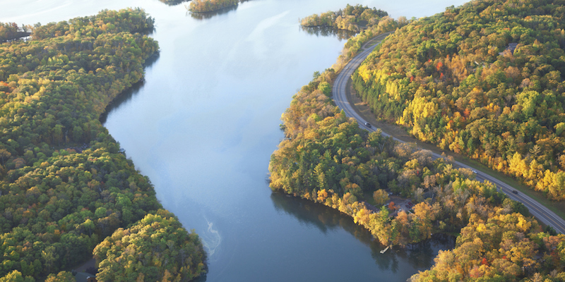 Mejores carreteras de Estados Unidos - Great River Road