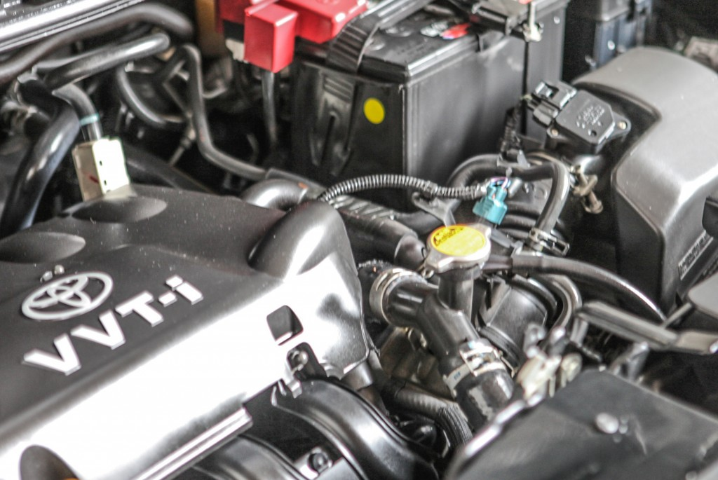 Examen de conducción - Motor de un carro