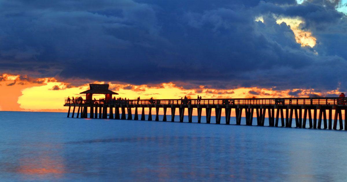Renta Car Miami - Las mejores playas en Florida - Naples Municipal Beach & Fishing Pier