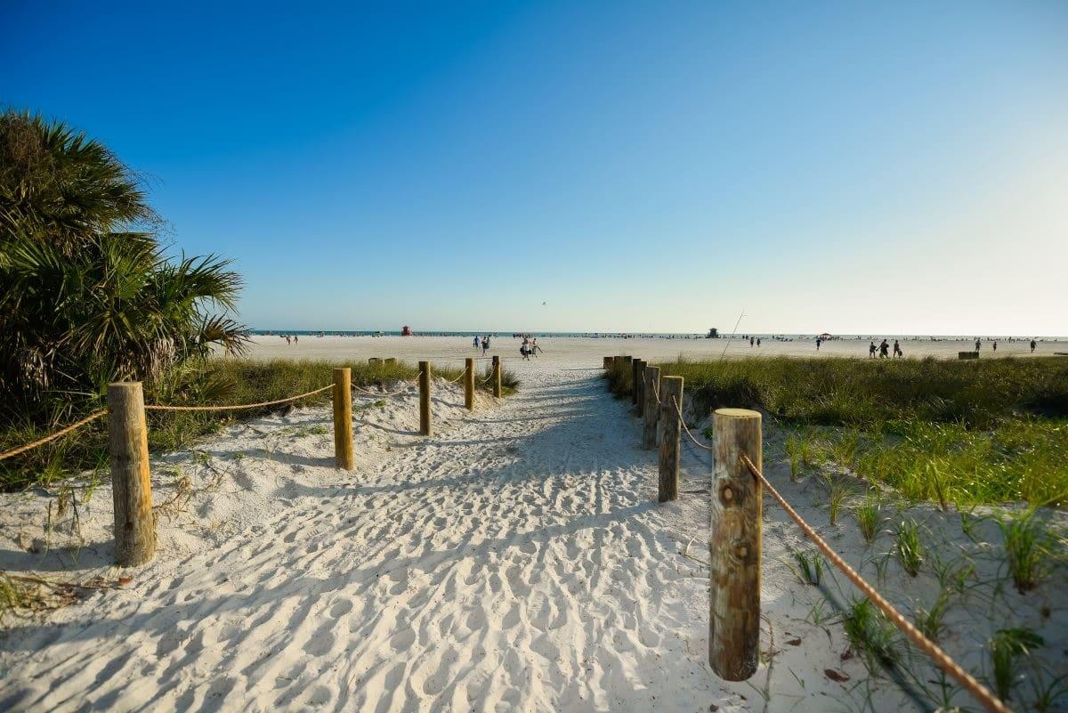 Las mejores playas en Florida - Siesta Beach