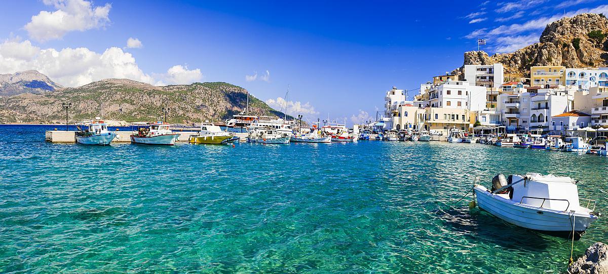 Destinos internacionales más baratos para viajar - Karpathos