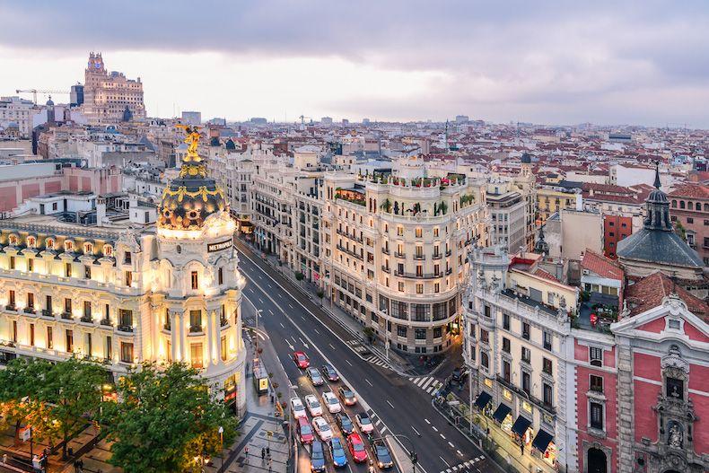 Renta de Autos en Madrid - Destinos internacionales para viajar con mama