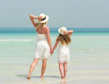 Destinos internacionales para viajar con mama