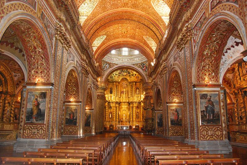 ¿Qué hacer en Quito? - Iglesia de la Compañia de Jesus