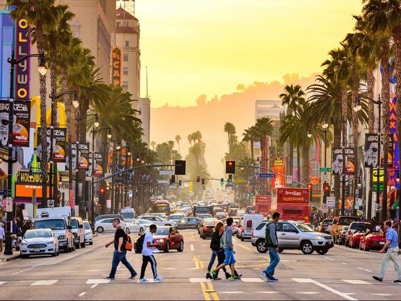 Qué hacer en Los Ángeles - Gente caminando en Los Angelés