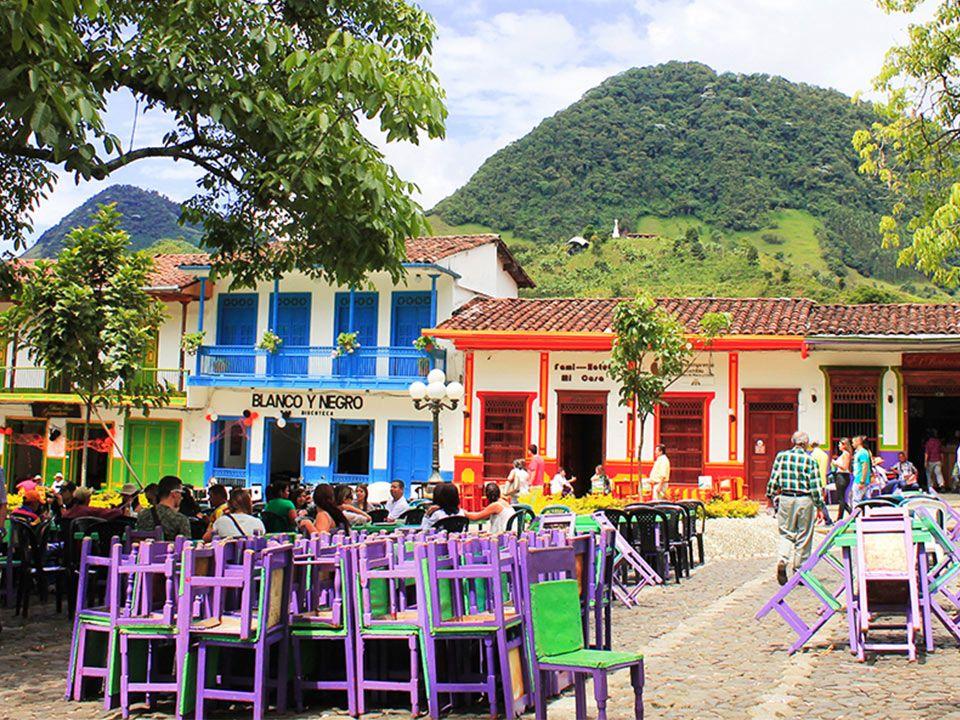 Pueblos cerca a Medellín - Jardin Antioquia