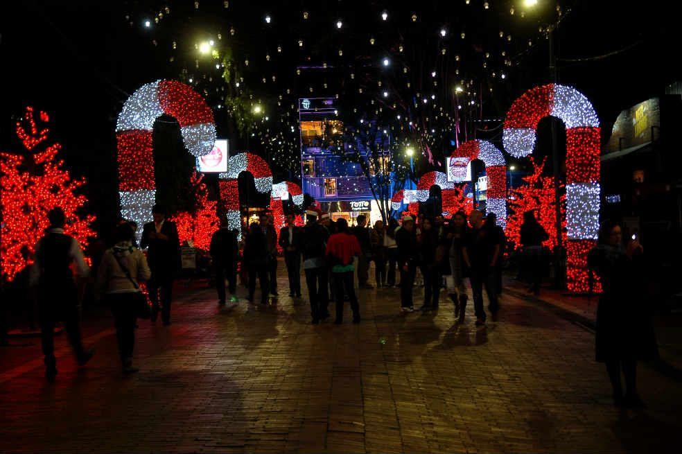 Colombia para fin de año Familia en Bogotá