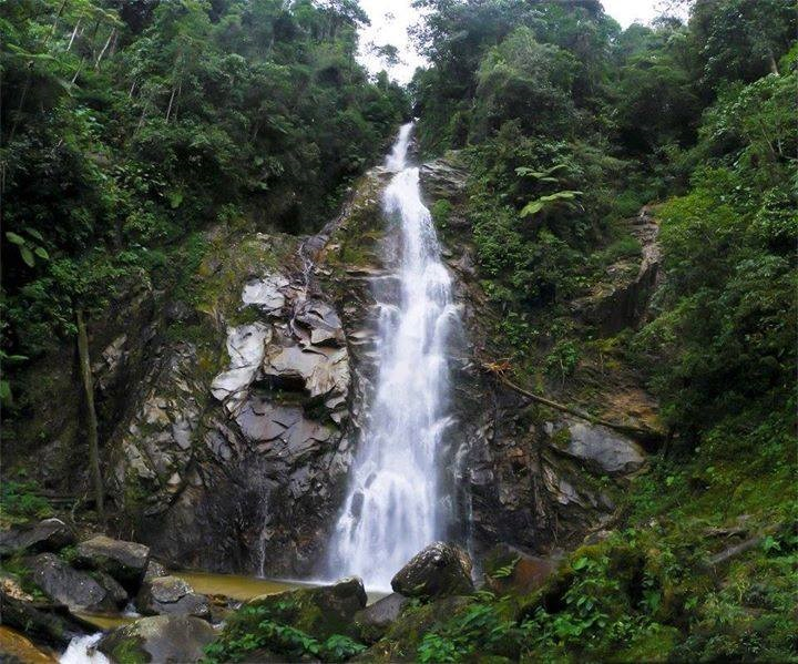 Cascadas en Santander - Cascada de Los Venados
