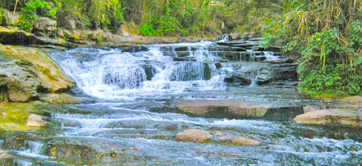 Cascadas en Santander - Pozo Azul en San Gil