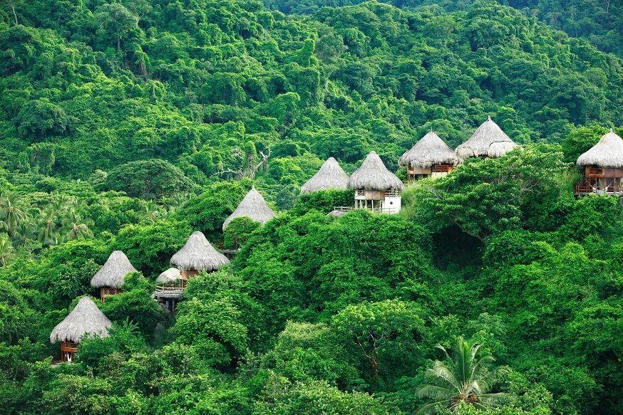 Planes exóticos en Colombia - Ecohabs Tayrona