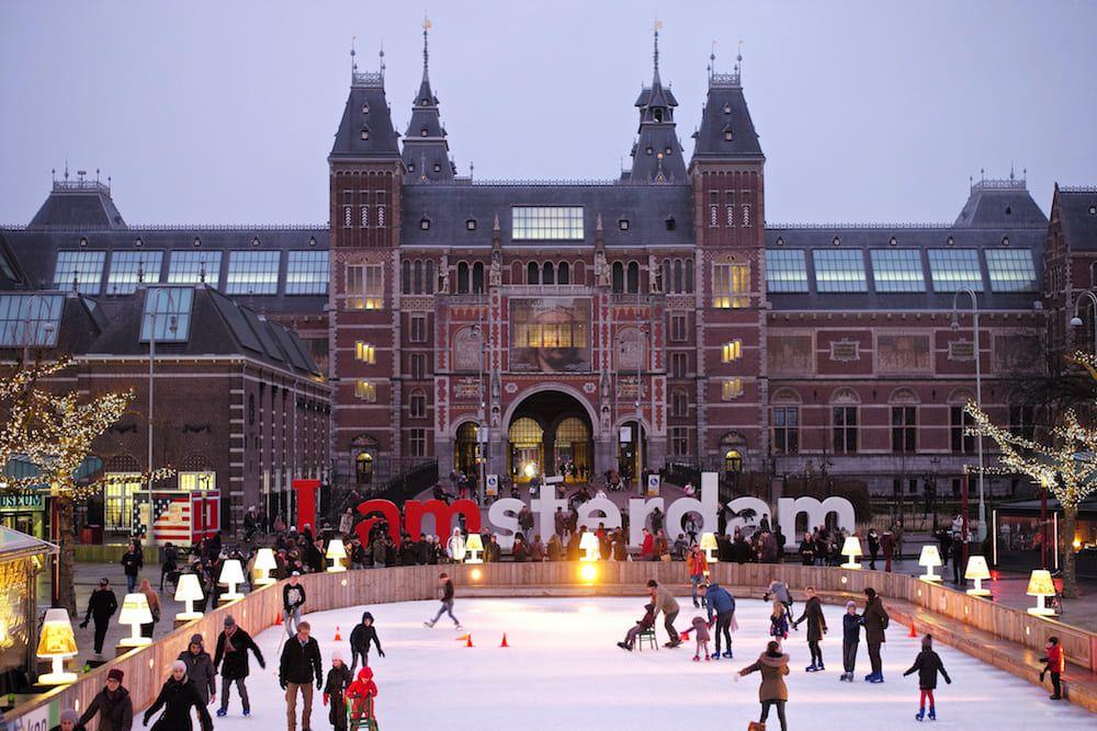 Navidad en Europa - Amsterdam