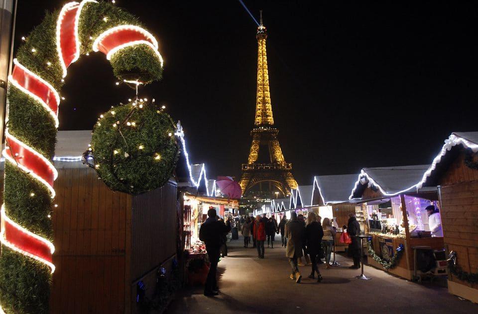 Navidad en Europa - Paris on Christmas