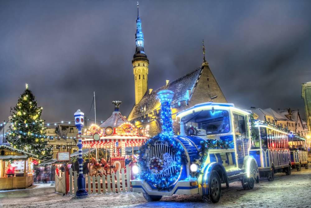 Navidad en Europa - Tallin on Christmas