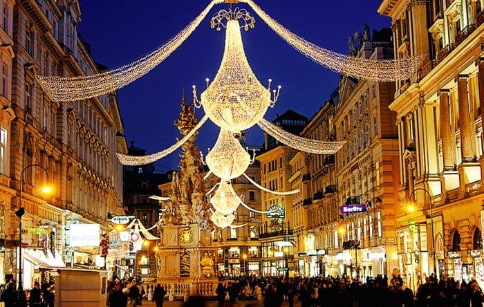 Navidad en Europa - Vienna on Christmas
