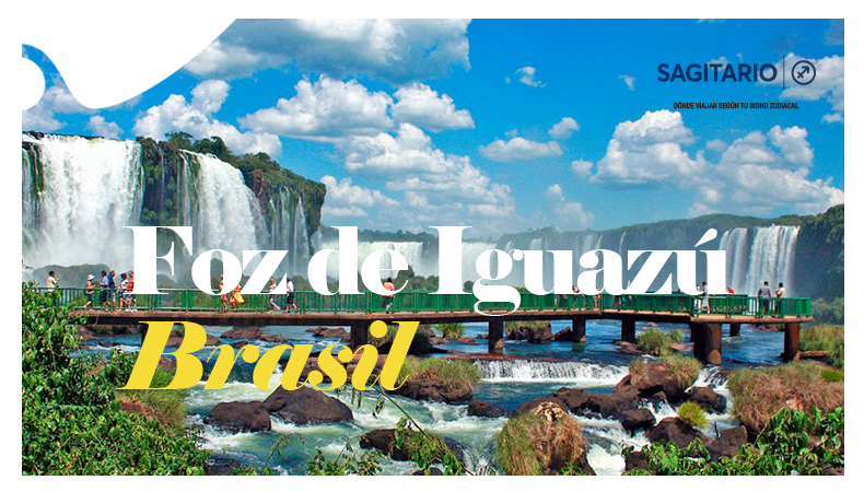 ¿Dónde viajar según tu signo zodiacal? - Forz de Iguazú - Sagitario
