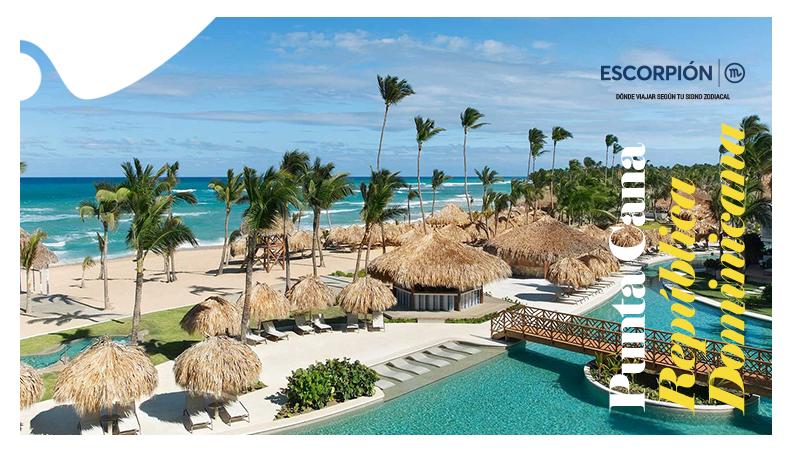 ¿Dónde viajar según tu signo zodiacal? Punta Cana - Escorpion