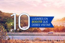 10 Lugares cerca a Bogotá que debes visitar