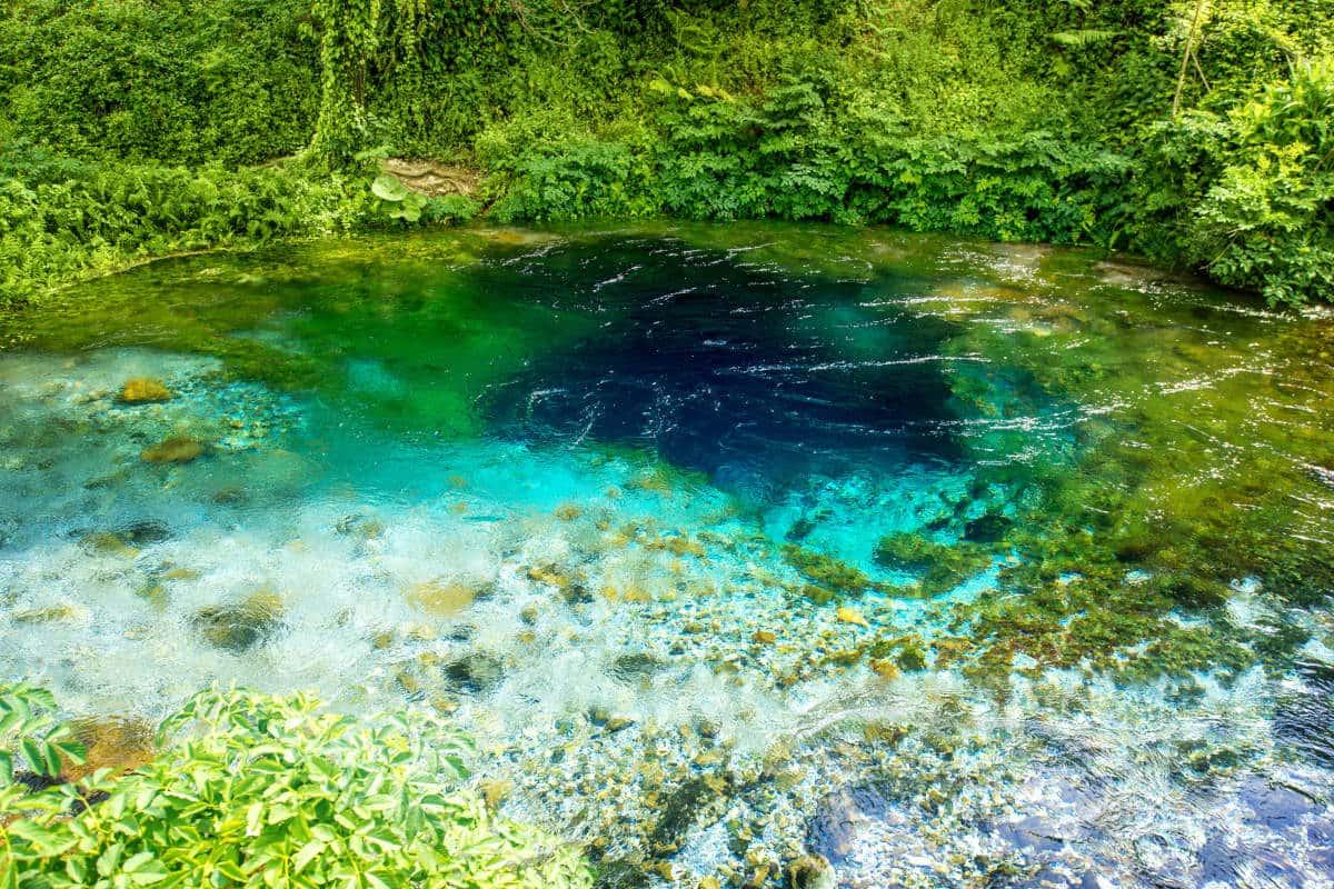 Vacaciones baratas destinos internacionales - manantial Blue Eye Albania
