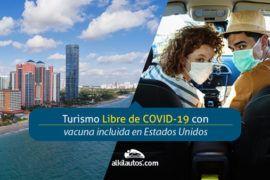 Turismo Libre de COVID con vacuna incluida en Estados Unidos