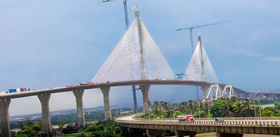 Los puentes más destacados de Colombia - Puente Pumarejo Barranquilla