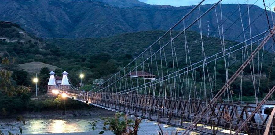 Los puentes más destacados de Colombia - Puente de Occidente